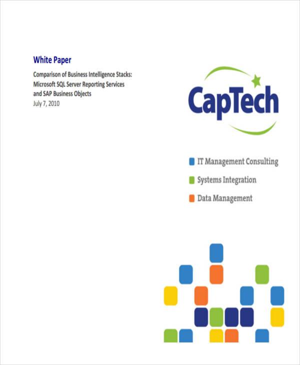 Sample White Paper Templates  Free  Premium Templates