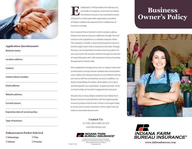 business owners policy template page 001 788x609