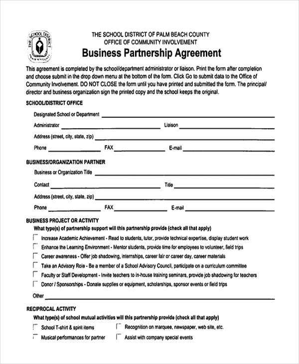 Simple Agreement Forms  Free  Premium Templates