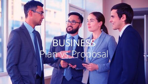 businessplanvsbusinessproposal