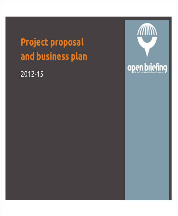 business project plan proposal