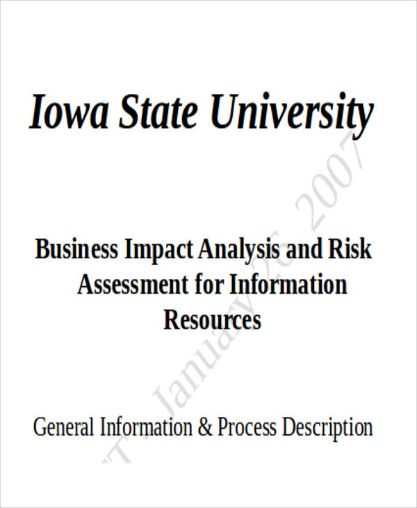 business risk assessment1