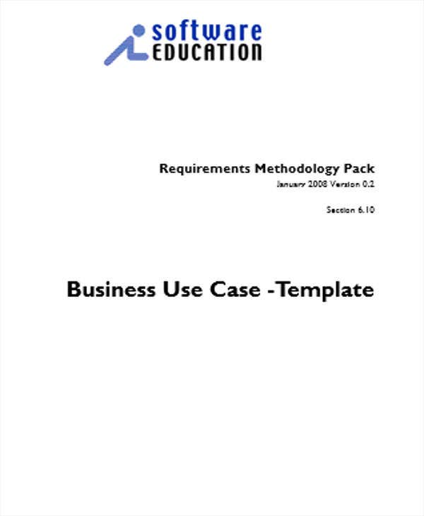 business specification use case