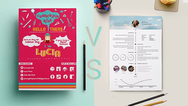 Curriculum Vitae Cv Vs A Resume Free Premium Templates