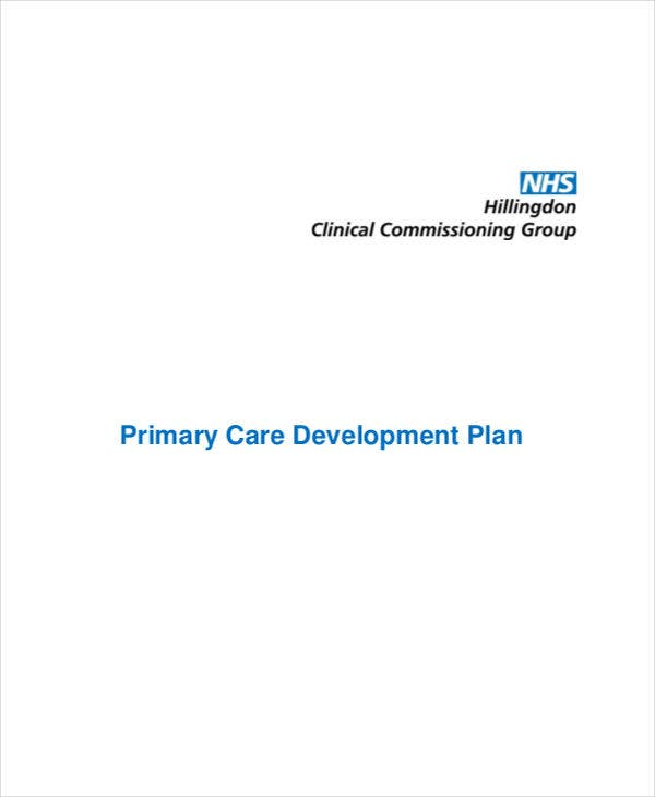care development plan