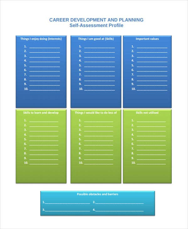 career planning skills