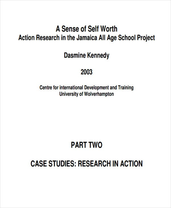 case study for action research