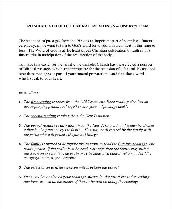 catholic obituary