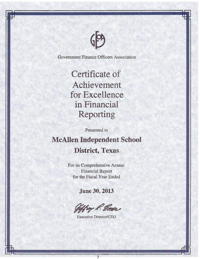 certificate of achievement for excellence in financial reporting page 001 788x1020
