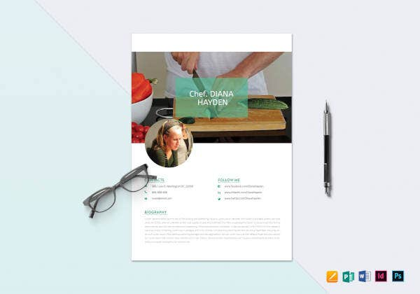 chef-resume-template