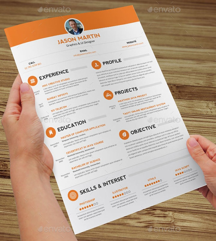 clean-non-traditional-resume