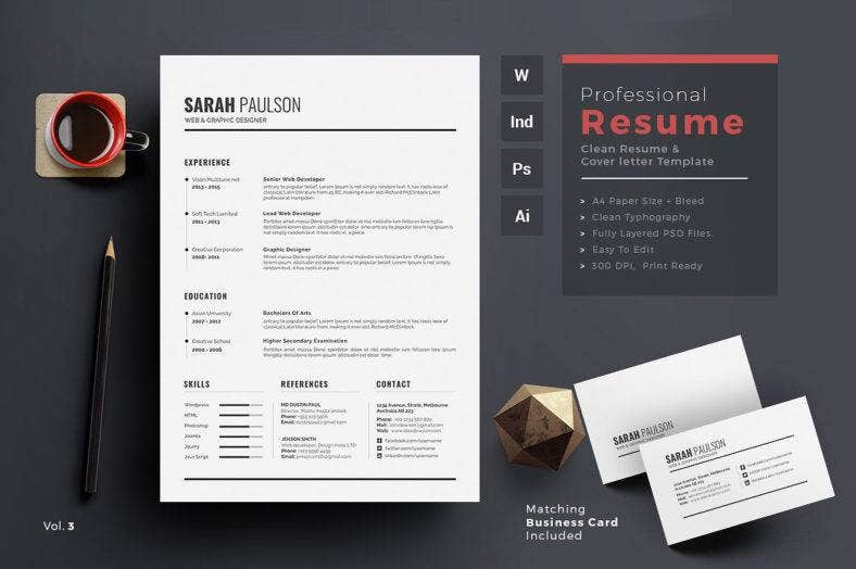 clean-resume-word