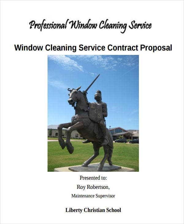 cleaning services proposal