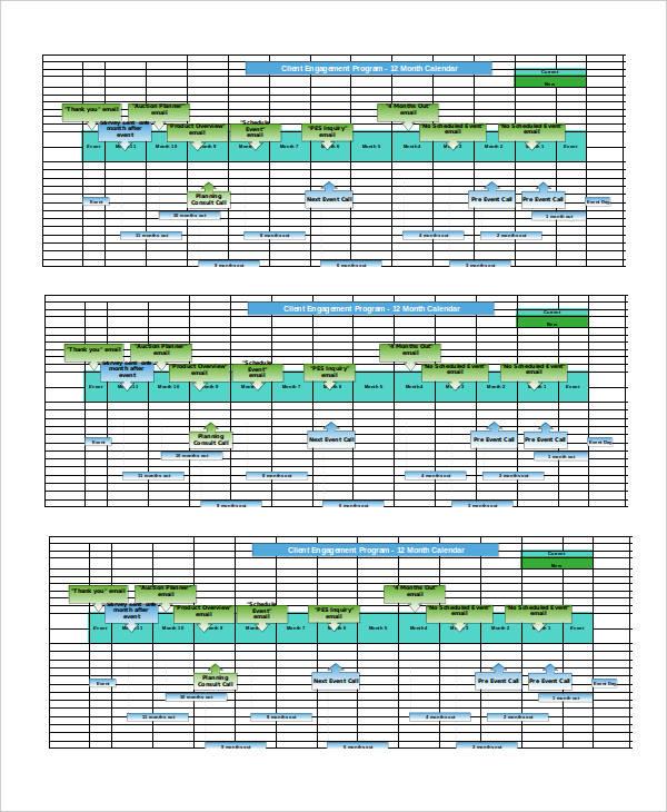 Client Engagement Timeline