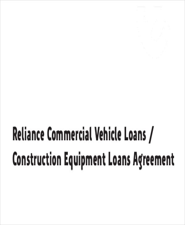 commercial construction loan agreement