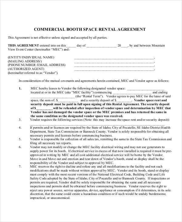 18 Rent Agreement Format Templates