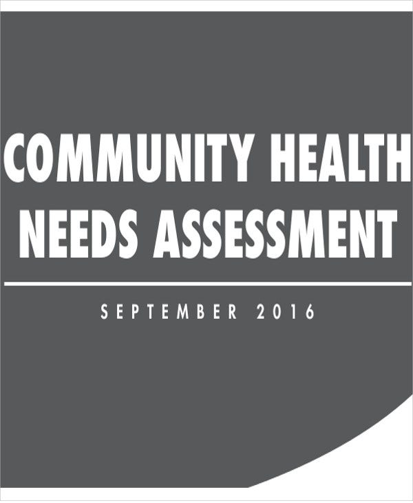 community health needs assessment1