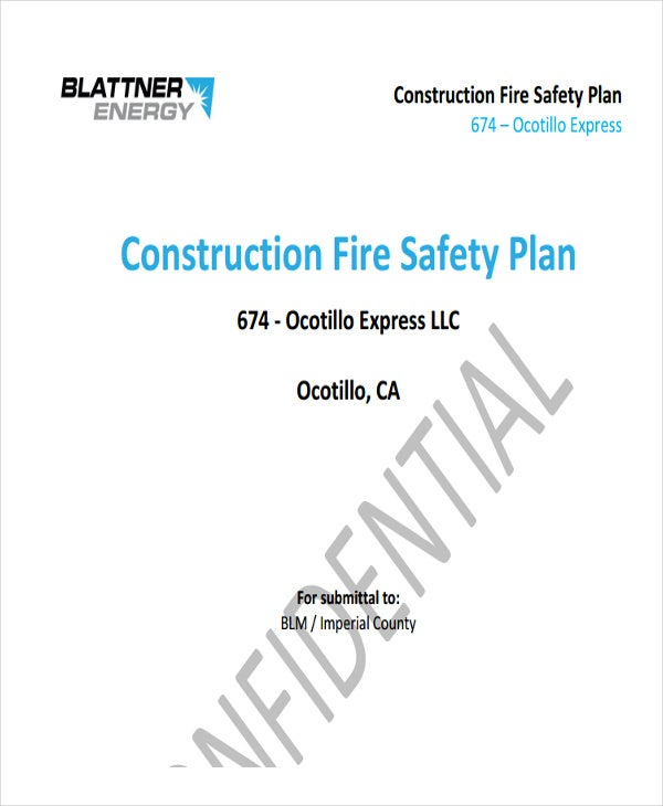 construction fire safety plan1