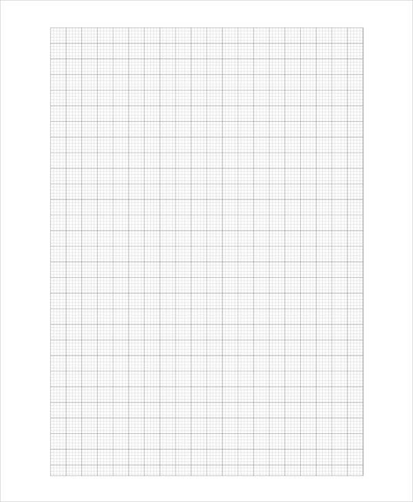 Printable Graph Paper Templates   Free Samples Examples Format