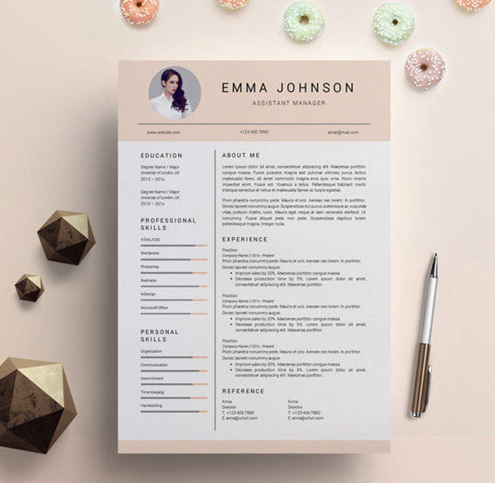 creative design resume1