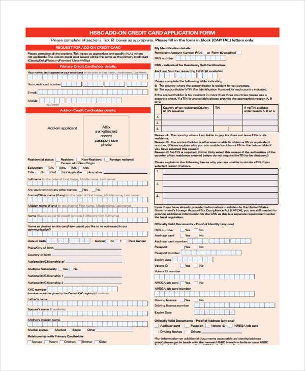 44  basic application forms
