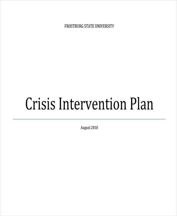crisis intervention scenario essay example View and download crisis intervention essays examples also discover topics, titles, outlines, thesis statements, and conclusions for your crisis intervention essay.