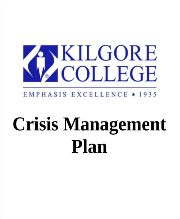crisis management plan1