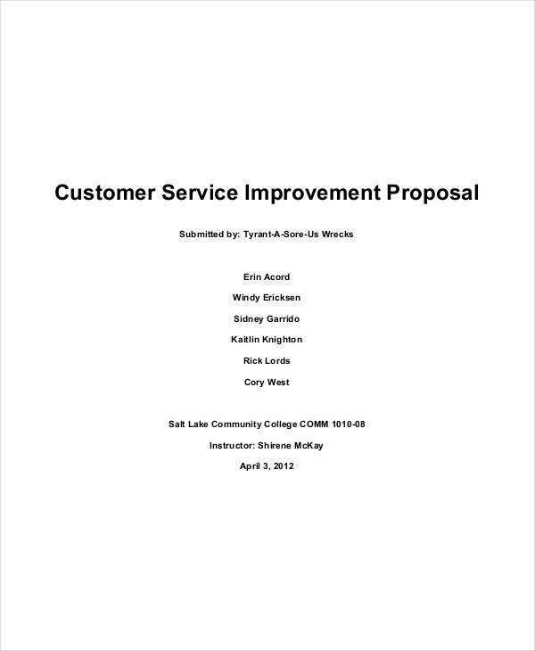 community service proposal template - 20 service proposal samples free premium templates