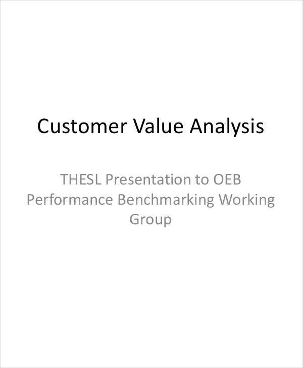customer value analysis