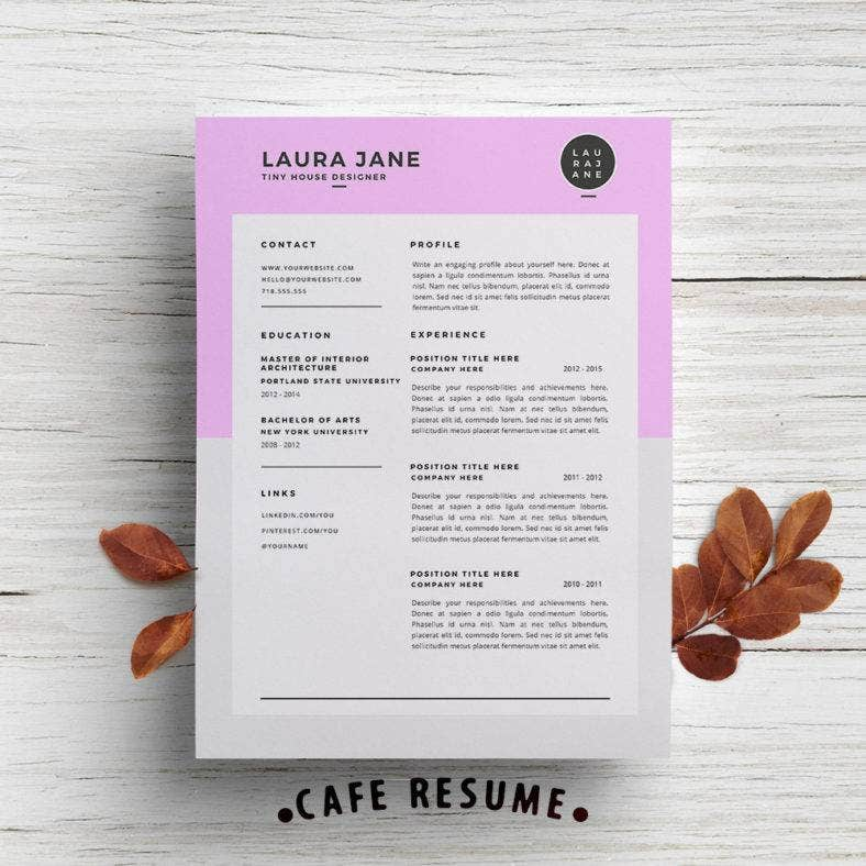 customizable-resume-template