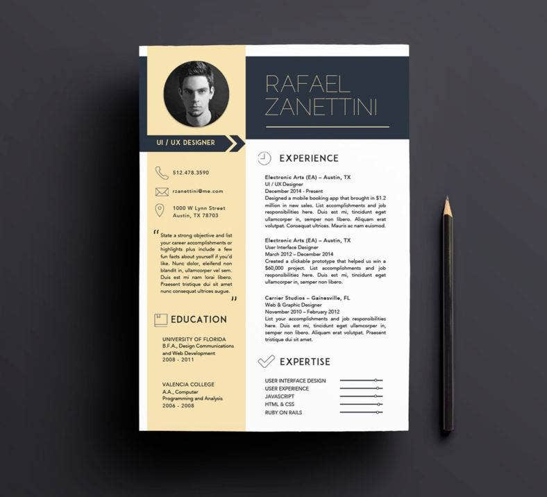 customizable-and-creative-resume