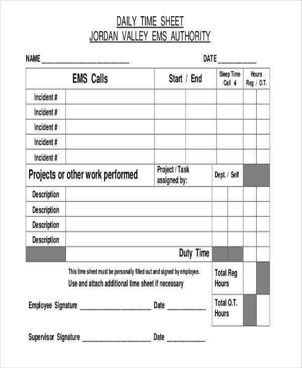 daily project timesheet1