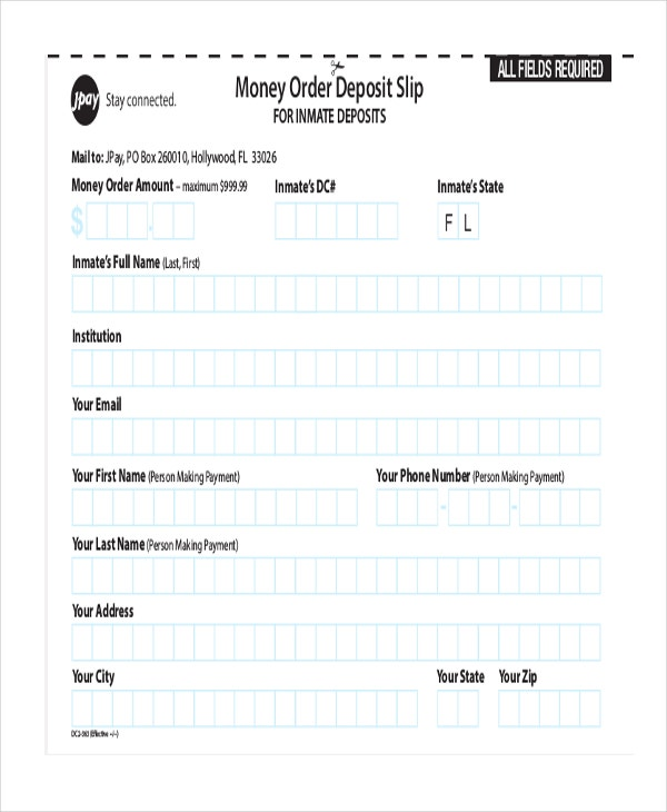 Money Order Forms - 8+ Free Word, Pdf Format Download | Free