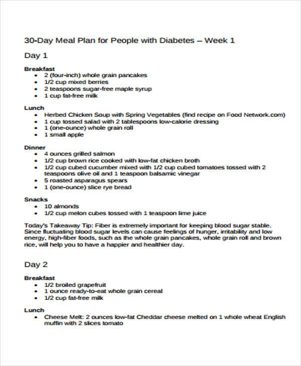 diabetic diet plan1