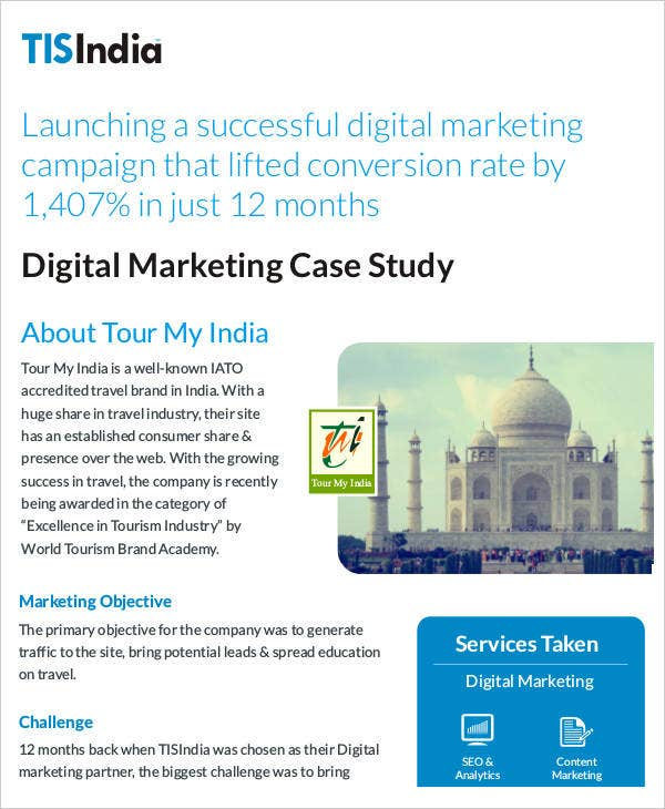 Digital Marketing Case Study