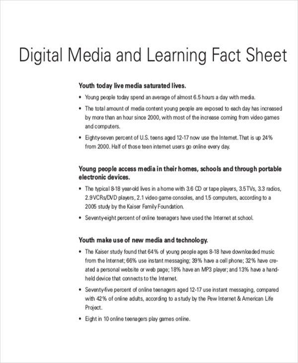 digital media fact sheet1