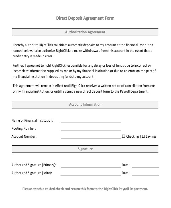 35+ Free Agreement Forms | Free & Premium Templates