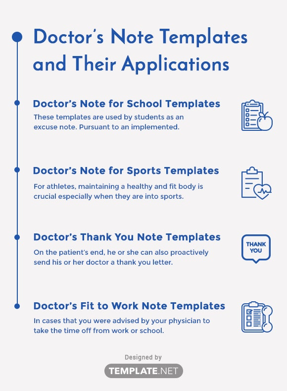 doctor's note templates and their applications1