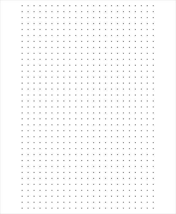 graphic relating to Dot Grid Paper Printable named Printable Graph Paper Templates - 10+ Absolutely free Samples, Illustrations