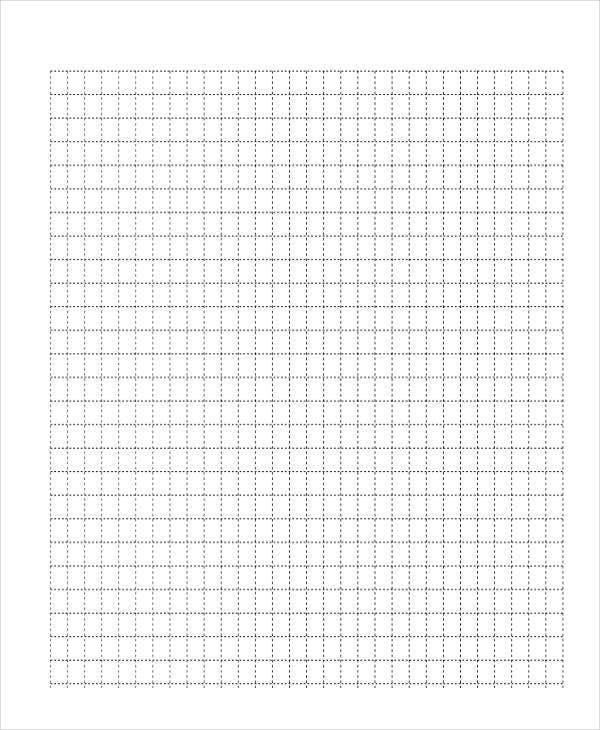 dotted grid lined paper