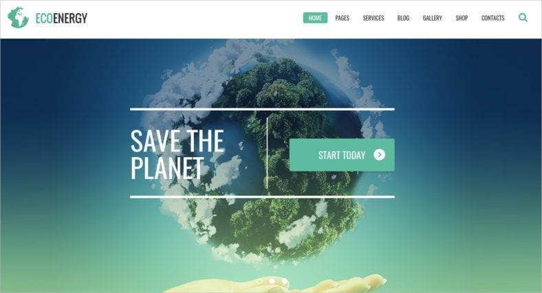 ecology-wordpress-theme