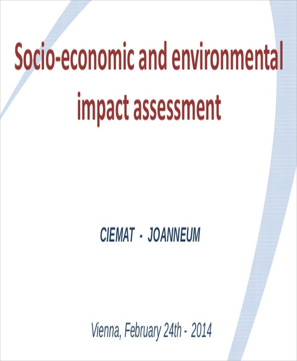 economic environmental impact assessment