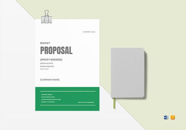 editable-budget-proposal-template