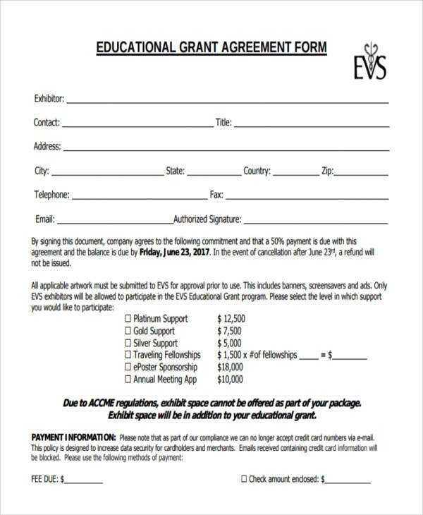 39  simple agreement forms