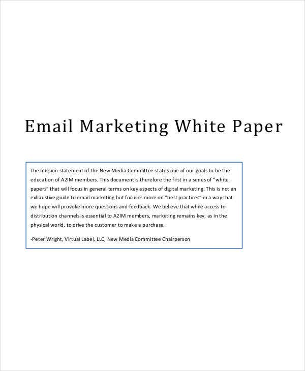 email marketing white paper1