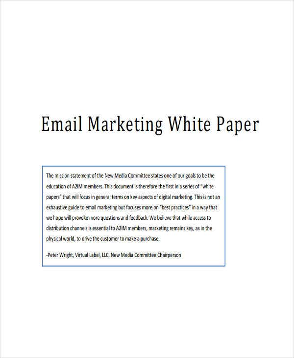 email marketing white paper2