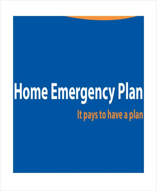 emergency evacuation plan for home