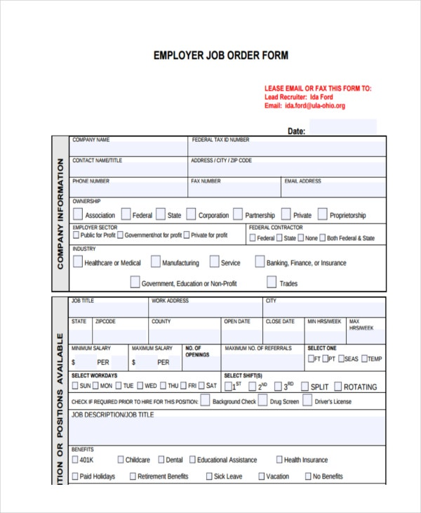 employer job order1