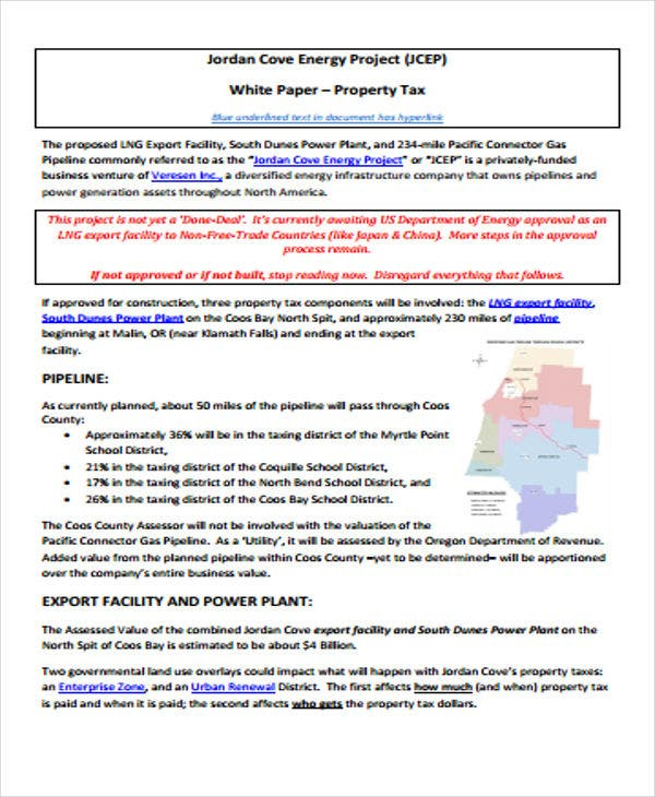 energy project white paper