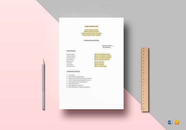 engineering-quotation-template